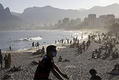 В Бразилии за сутки почти 41 тыс. человек заразились COVID-19 и 1,1 тыс. умерли