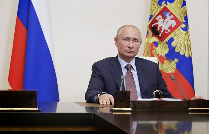 Путин днем выступит с телеобращением