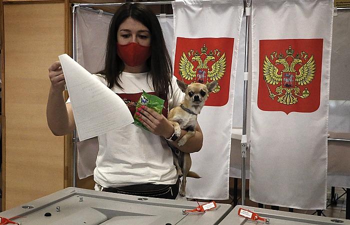 В МВД РФ поступило всего 839 сообщений о происшествиях на голосовании по Конституции