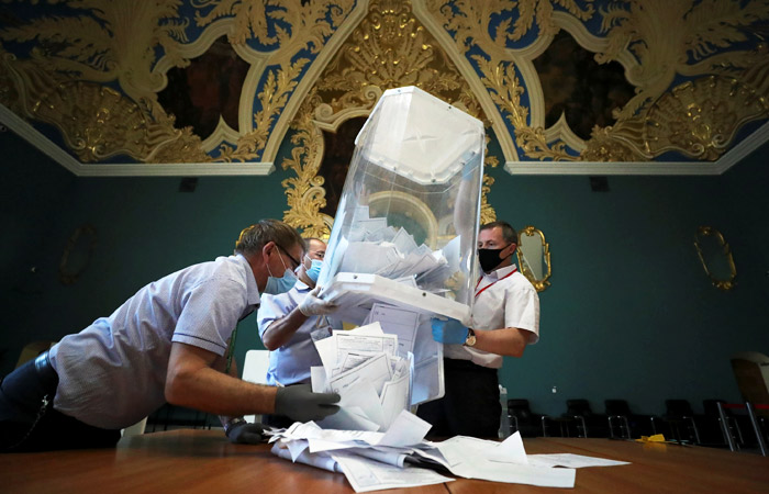За поправки проголосовали 77,92% избирателей после обработки 100% протоколов