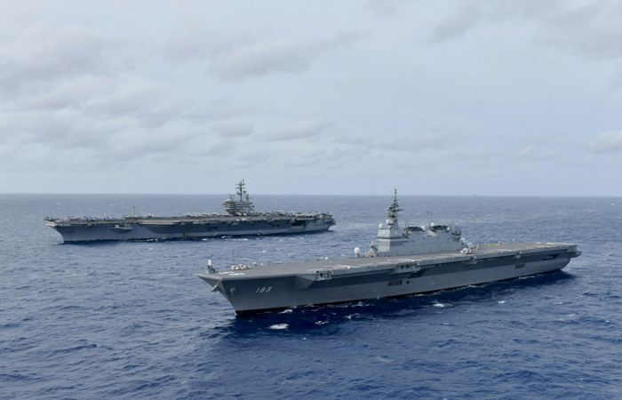 США направят авианосцы в Южно-Китайское море, где КНР проводит военные учения