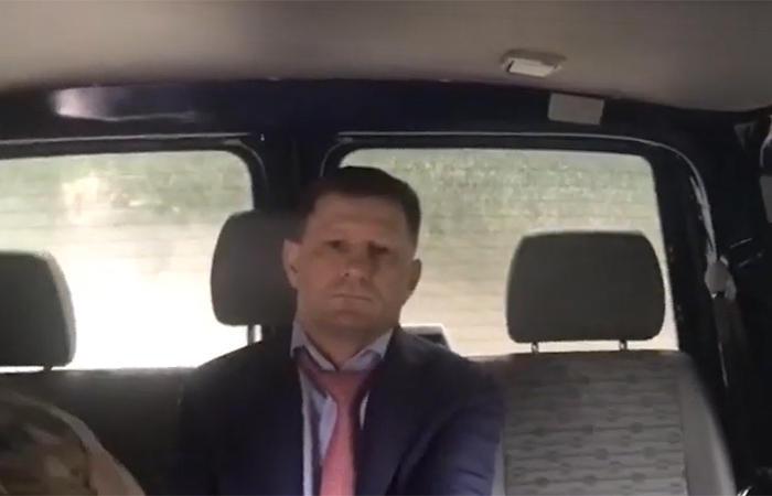 Губернатора Хабаровского края задержали возле собственного дома