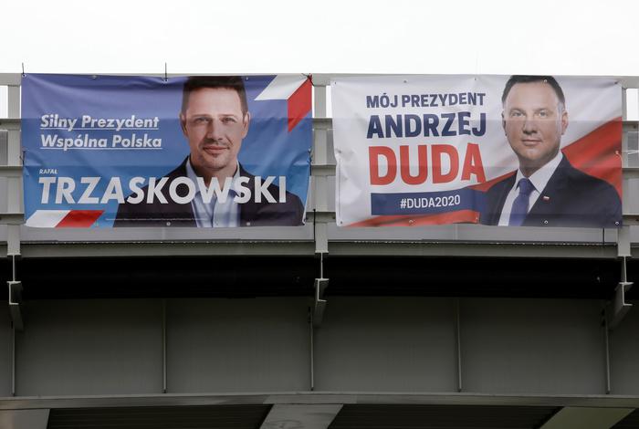 В Польше пройдет второй тур президентских выборов