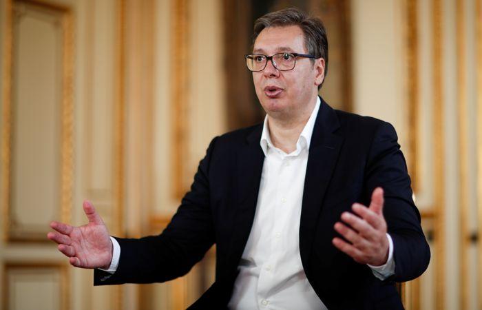 """Президент Сербии отверг заявления о """"российском следе"""" в протестах"""