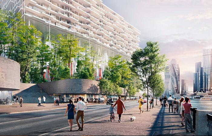 На территории Бадаевского завода построят дом на 35-метровых колоннах