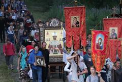 Десять тысяч паломников приняли участие в Крестном ходе на Урале