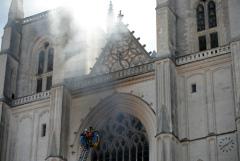 Огонь уничтожил орган в одном из крупнейших соборов Франции