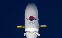 Первая ступень ракеты Falcon 9 приземлилась на плавучую платформу