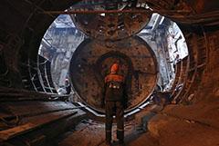 Глубокий тоннель придется построить в центре Москвы для запуска МЦД-5