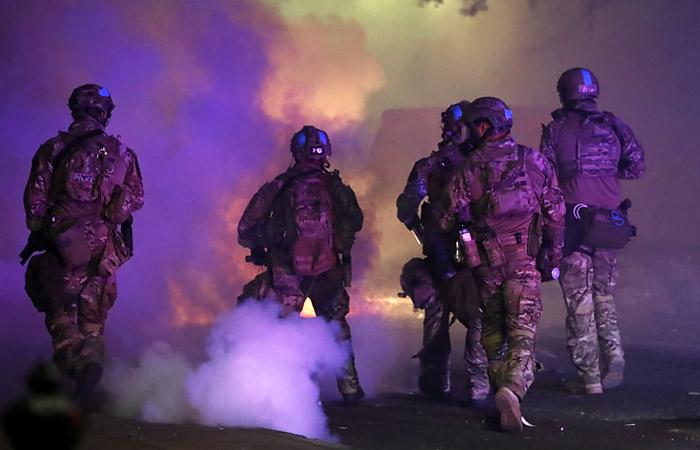 Первый канал сообщил о нападении на свою съемочную группу в Портленде