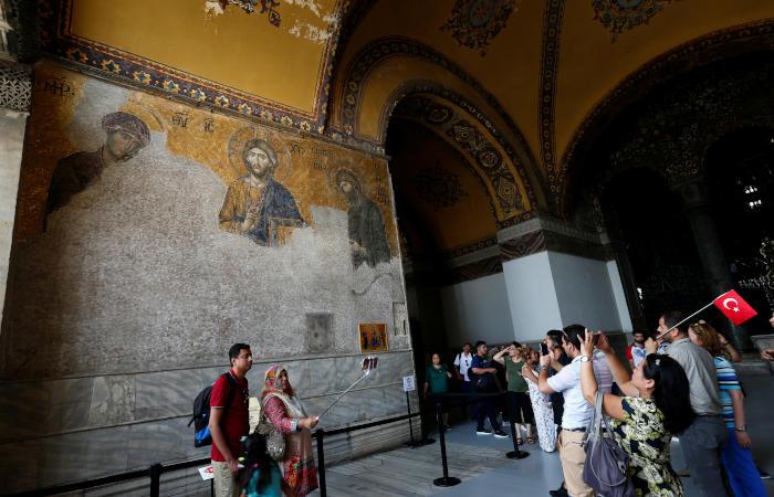 В Турции назначили имамов для мечети Айя-София