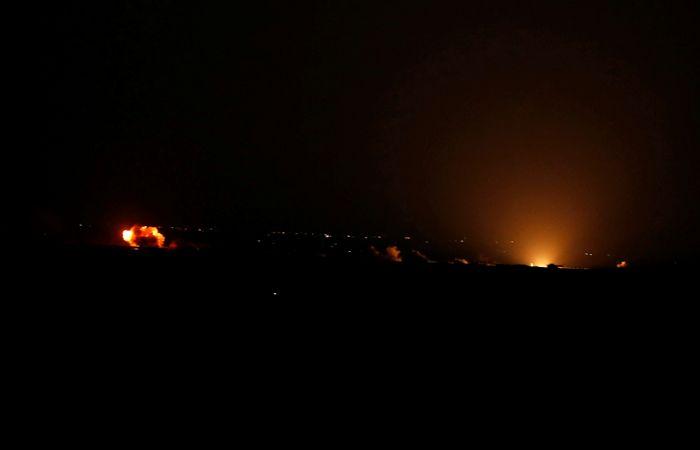 Израиль сообщил об авиаударе по Сирии