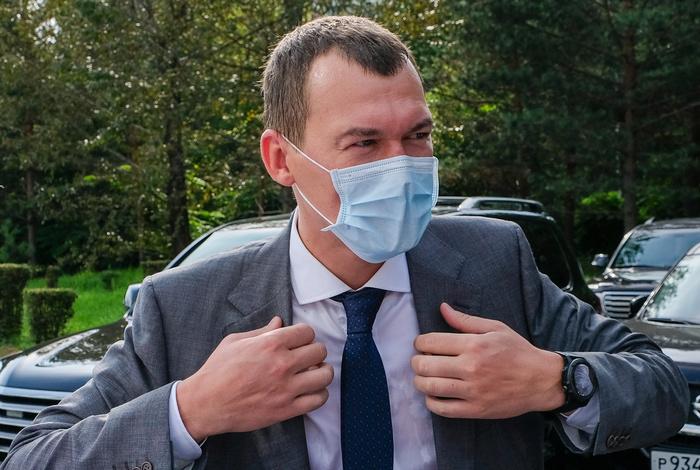 Дегтярев пообщался с участниками акции в поддержку Фургала