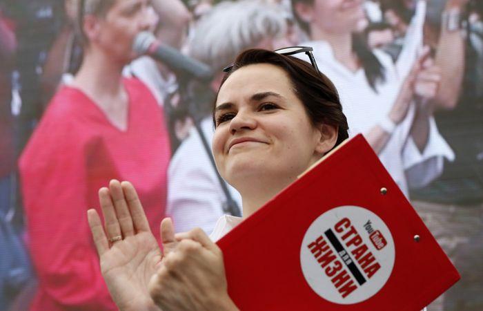 Тихановская заявила, что не снимется с выборов в обмен на свободу мужу