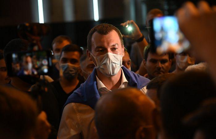 Дегтярев заверил протестующих сторонников Фургала в уважении к ним