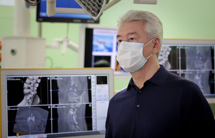 Собянин заявил, что заболеваемость COVID-19 в Москве снижаться не будет
