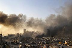 Около 10 человек погибли в результате взрывов в порту Бейрута