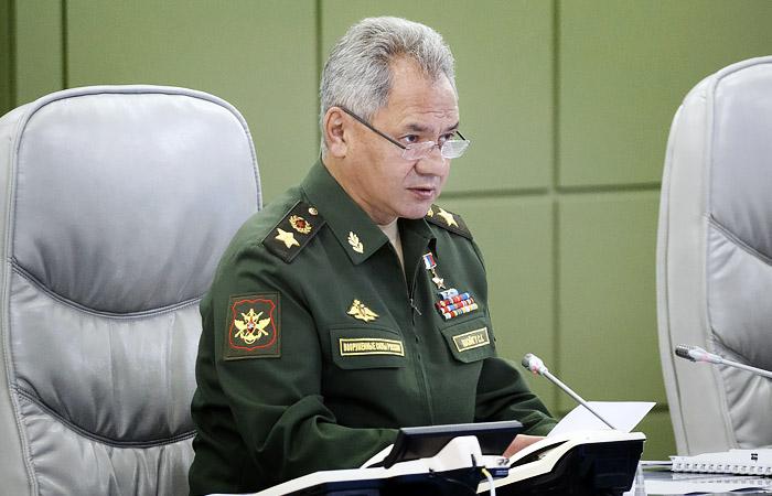 Шойгу рассказал о результатах внезапной проверки боеготовности ВС РФ