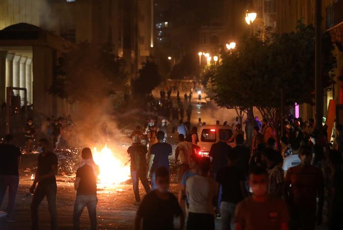 Антиправительственные протесты прошли в Бейруте