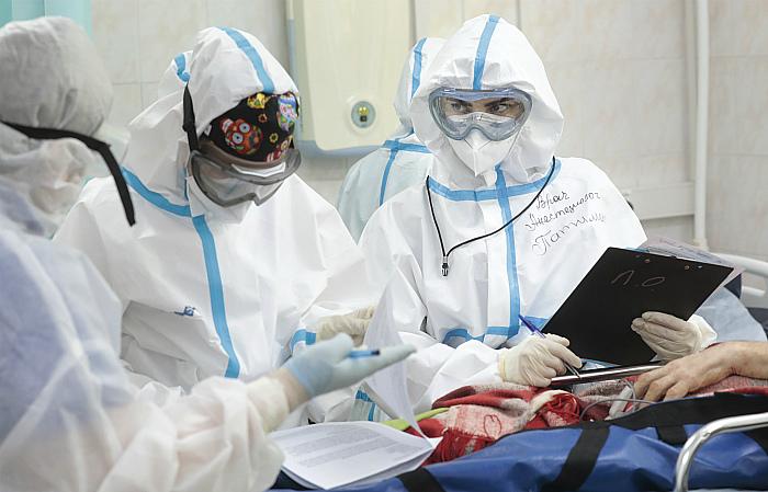 Суточный прирост заболевших COVID-19 в РФ составил 5 189