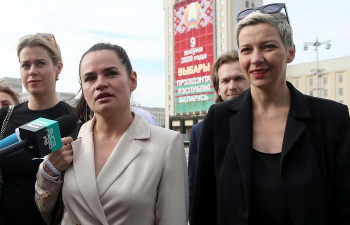 Минская милиция задержала и отпустила соратницу Тихановской