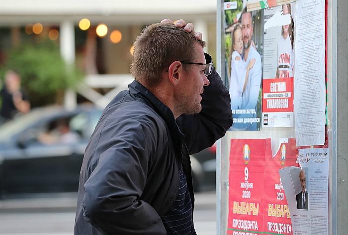 Жители Белоруссии в день выборов заметили проблемы с интернетом