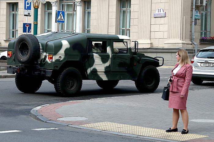 В центре Минска начали перекрывать центральные улицы