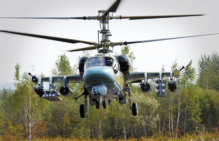"""Модернизированный вертолет """"Аллигатор"""" Ка-52М совершил первый полет"""