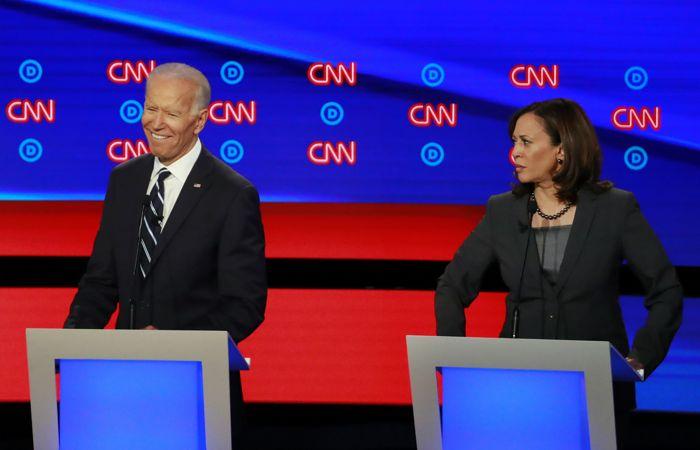 Трамп удивлен, что Байден выбрал Харрис кандидатом в вице-президенты