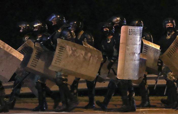 В Бресте на акции протеста милиционеры стреляли на поражение
