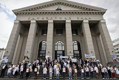 В Белоруссии началась волна митингов на предприятиях