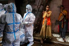 В Индии выявили рекордное число случаев COVID-19 за сутки