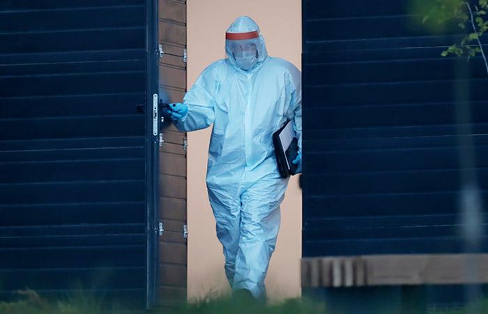 В России коронавирусом за сутки заразились чуть более 5 тыс. человек