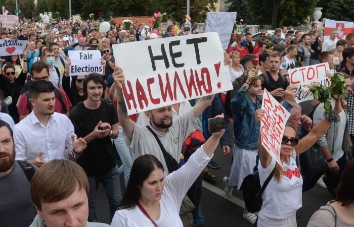ЕС начал работу над санкциями в отношении белорусских властей