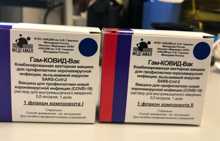В России произведена первая партия вакцины от коронавируса