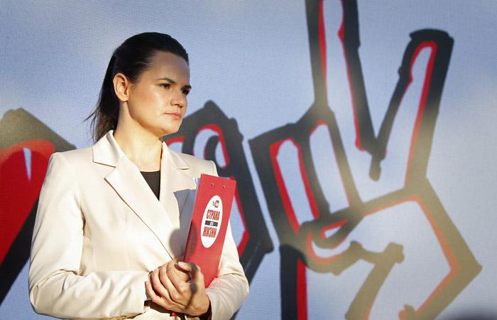 Тихановская заявила о готовности стать лидером нации