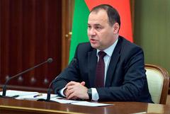 Лукашенко переназначил Головченко премьером Белоруссии
