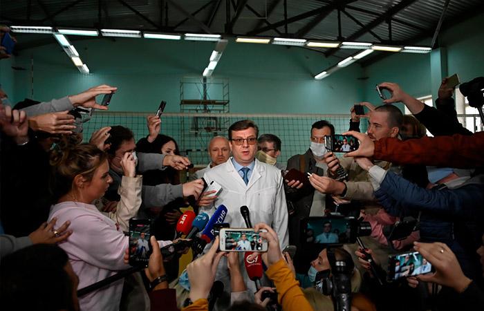 Основным диагнозом Навального названо нарушение обмена веществ