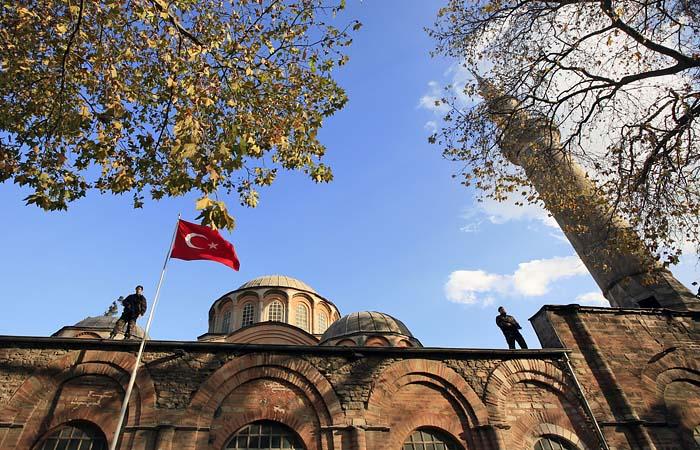 Эрдоган велел превратить в мечеть стамбульский монастырь Хора