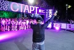Свыше 6 тысяч человек приняли участие в Ночном забеге в Москве