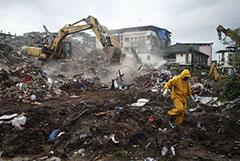 В Индии рухнул шестиэтажный жилой дом