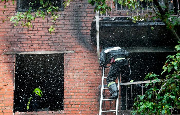 При взрыве газа в доме на западе Москвы пострадали четыре человека