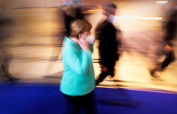 Власти Германии решили ввести штраф в 50 евро за отсутствие маски