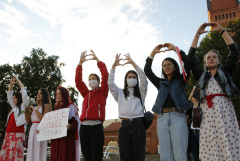 В Минске началась женская акция солидарности
