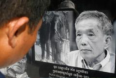 """Умер один из лидеров """"красных кхмеров"""", отбывавший пожизненный срок"""