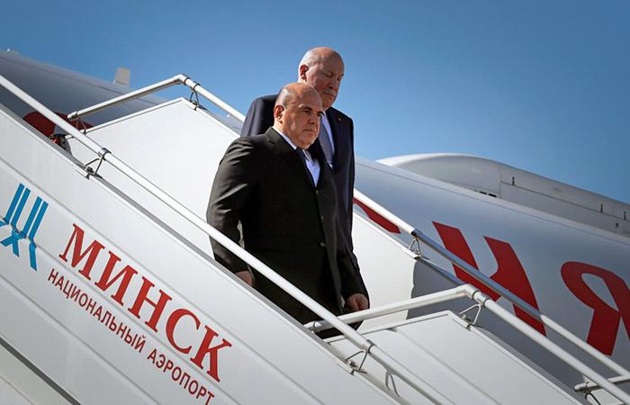 Михаил Мишустин посетит Минск 3 сентября