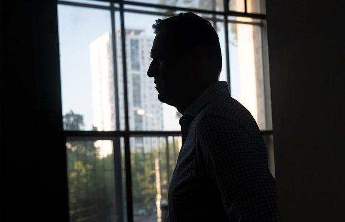 Навальный в Томске снимал сюжет о коррупции в коммунальном хозяйстве