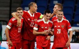 Россия победила Сербию в Лиге наций УЕФА