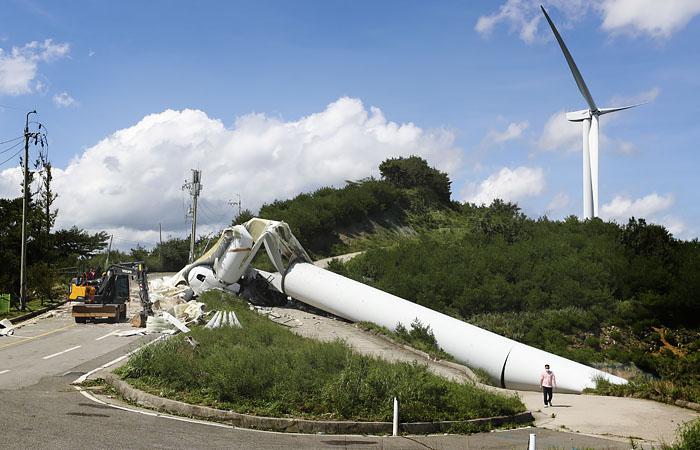 Тайфун в Южной Корее оставил более 270 тыс. домов без электричества