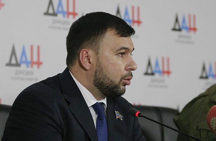 Пушилин приказал ударить по незаконным инженерным сооружениям ВСУ